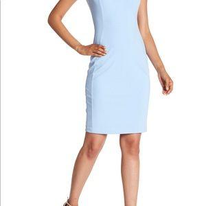 Calvin Klein NWT Powder Blue Sheath Dress sz 10